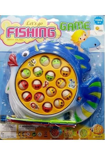 Pilli Balık Tutma Oyunu Büyük Boy 15 Balık 2 Olta