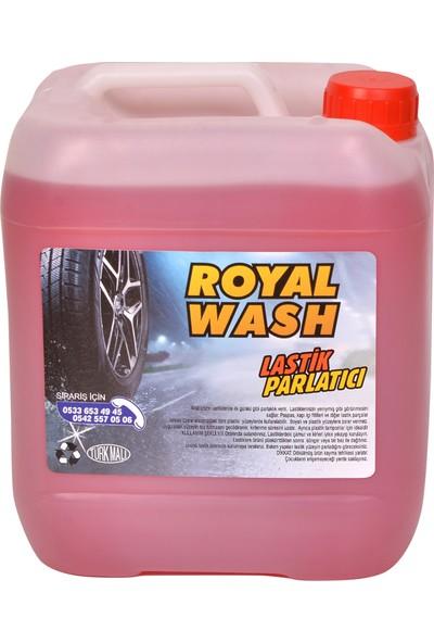 Royalwash Lastik Parlatıcı 5 kg + Uygulama Süngeri