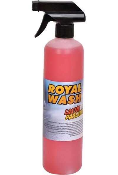 Royalwash Lastik Parlatıcı 1000 ml + Uygulama Süngeri