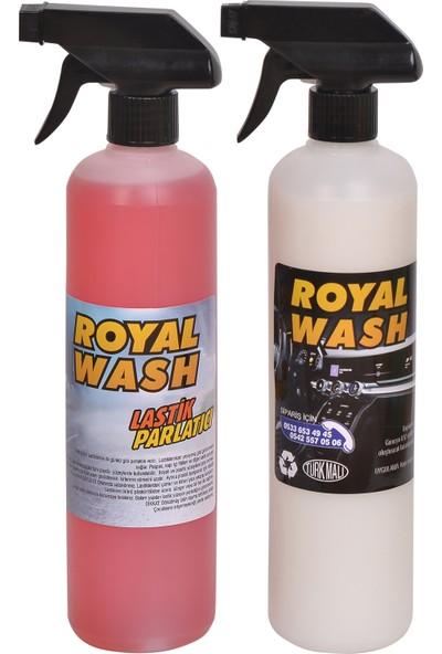 Royalwash Lastik Parlatıcı + Torpido Parlatıcı