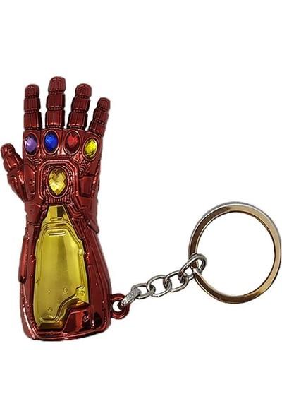 AlpCollection Avengers Marvel İron Man Eldiven Metal Anahtarlık