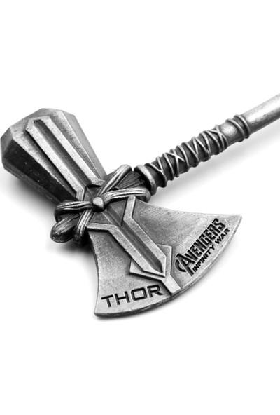AlpCollection Thor Avengers EndGame Marvel Balta Çekiç Metal Anahtarlık