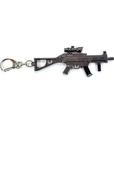 AlpCollection Pubg Fortnite UMP9 Silah Tabanca Metal Anahtarlık
