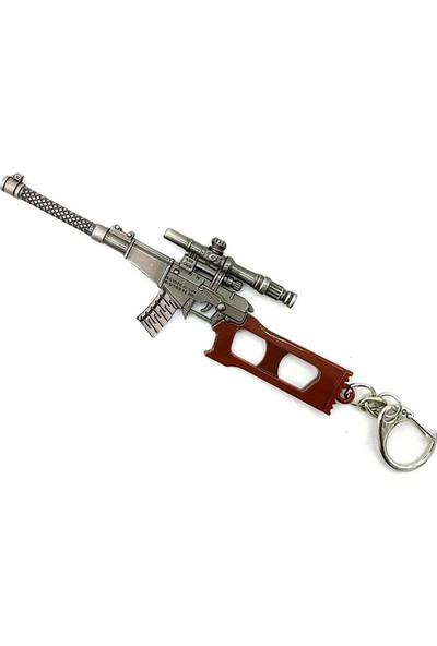 AlpCollection Pubg Fortnite VSS Silah Tabanca Metal Anahtarlık