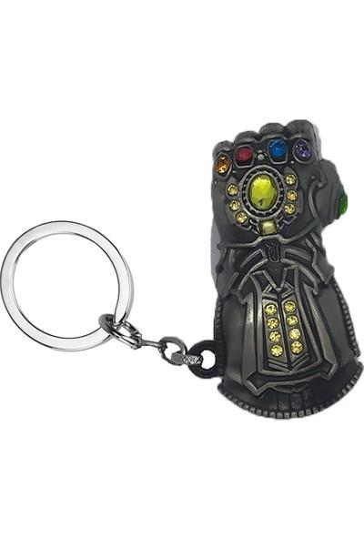 AlpCollection Avengers Yenilmezler Marvel Thanos Eldiven Metal Anahtarlık