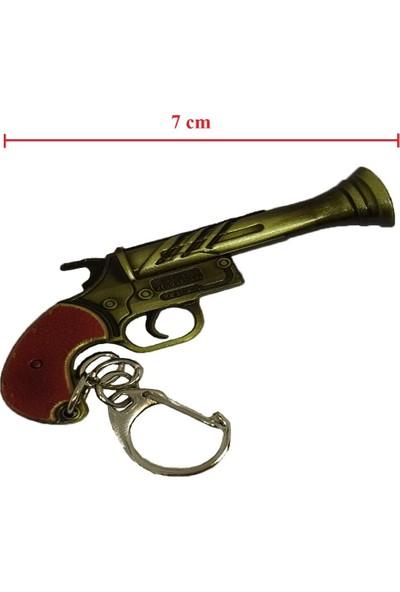AlpCollection Pubg Fortnite R1895 Silah Tabanca Metal Anahtarlık