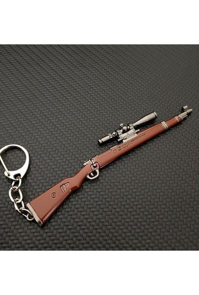 AlpCollection Pubg Fortnite KAR98 Silah Tabanca Metal Anahtarlık