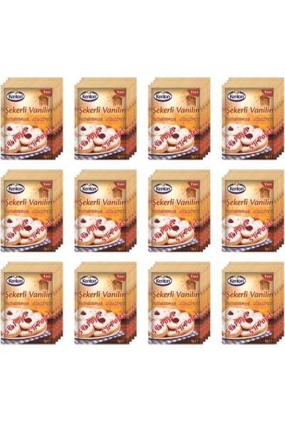 Kenton Şekerli Vanilin 5'li 12'li Paket