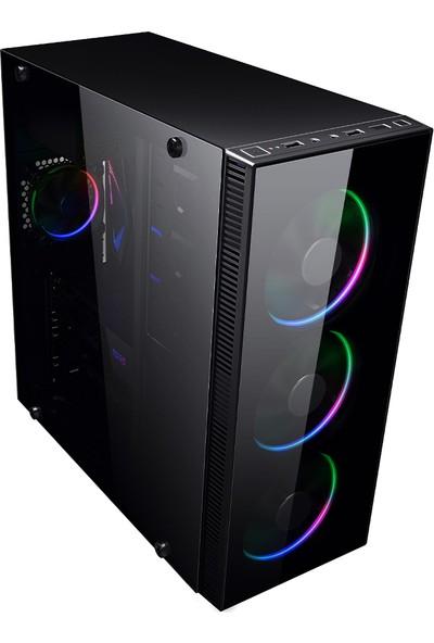 İzoly K302 İ7-860 3.46GHZ 8GB 240SSD 500GB RX 560 4GB Masaüstü Bilgisayar
