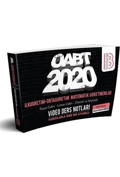 Benim Hocam Yayınları 2020 Öabt İlköğretim Ve Ortaöğretim Matematik Öğretmenliği Cebir-Olasılık Ve İstatislik Video Ders Notları