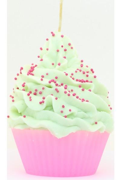 XX Tasarım Dekoratif Cupcake Mum