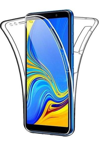 Kılfreyonum Samsung Galaxy A9 2018 Ön Arka Şeffaf 360 Derece Tam Korumalı Kılıf
