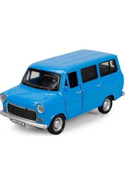 Birlik Oyuncak Ford Minibüs 1-36 Metal Araç - Sessiz - Mavi