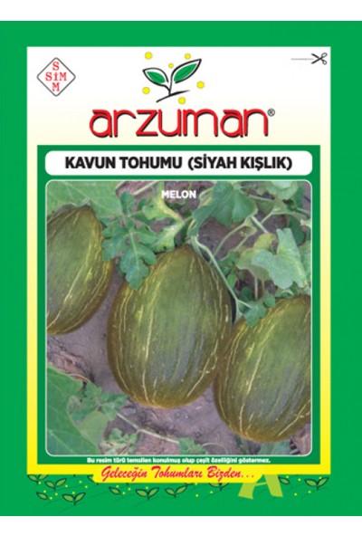 Arzuman Meyve Siyah Kışlık Kavun Tohum 10 gr