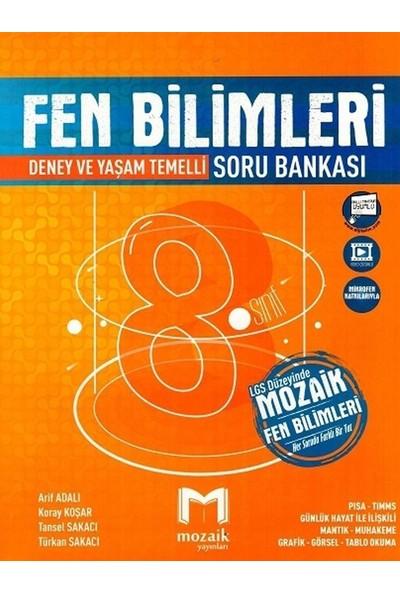 Mozaik Yayınları 8. Sınıf Fen Bilimleri Soru Bankası