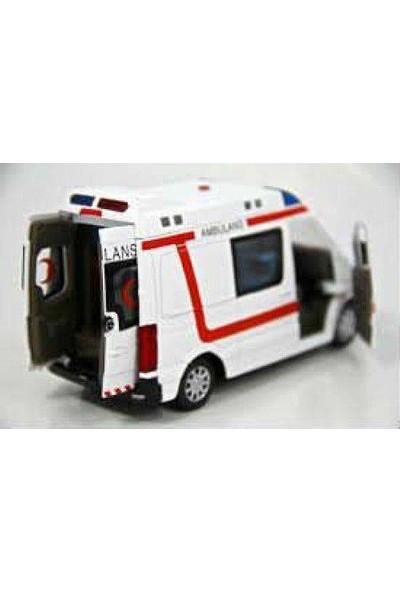 Verdem Çekbırak Işıklı Sesli Ambulans