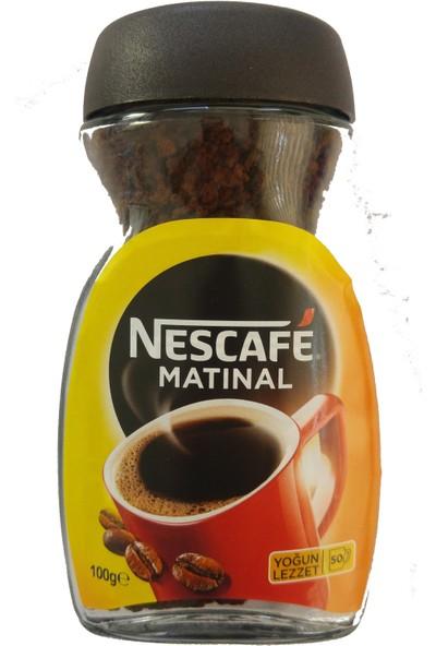 Nescafe Matinal Brezilya Hazır Kahve 100 gr Kavanoz