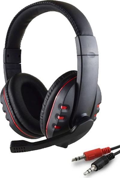 Zabata Mikrofonlu Oyuncu Kulaklığı - Siyah - Kırmızı