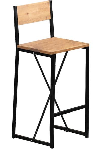 Bar Taburesi Yüksek Sandalye Cafe Sandalyesi 5145