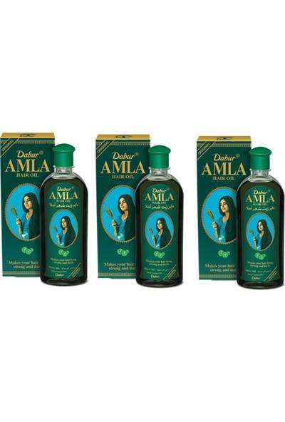 Dabur Amla Saç Bakım Yağı Bektaşi Üzümlü 200 ml 3 Adet