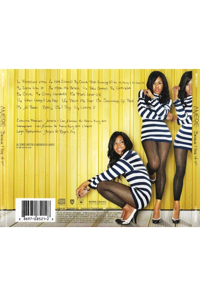 Amerie – Because I Love It CD