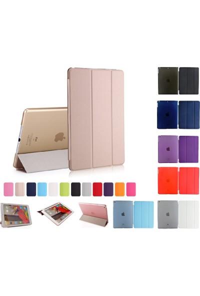 """Essleena Apple Kılıf Seti X-Plus Kılıf iPad Mini 3.Nesil (2014) 7.9"""" Smart Kılıf+Kalem (A1599/A1600) - Gri"""