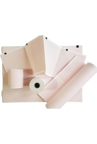 Medialp Kardiosis Tepa Efor Kağıdı - A4 milimetrik Baskılı Eforlu Ekg Kağıdı - 1000 Yaprak