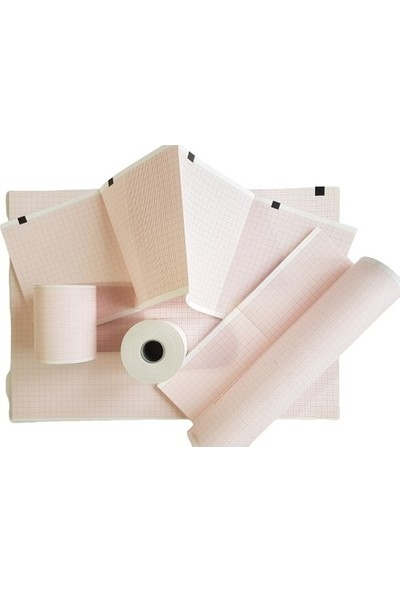 Medialp Promedıc PR MECG-12A Ekg Kağıdı 210 x 20 Rulo - 5 Rulo