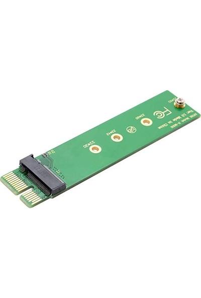 Alfais 4396 NGFF M-Key Nvme AHCI SSD To Pci-E 3.0 1x 960 Evo Kart Çevirici Dönüştürücü Adaptör