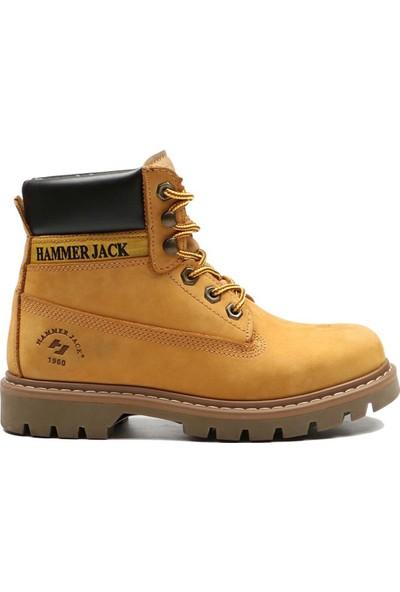 Hammer Jack Cat Sarı Nubuk Kadın Bot 102 16600-G