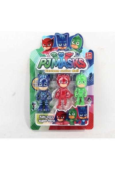 Pj Masks 3'lü Figür Set - Pijama Maskeli Oyuncak