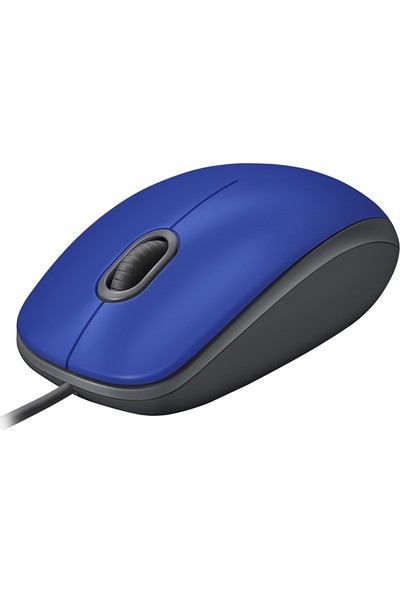 Logitech M110 Sessiz Optik USB Mouse-Mavi