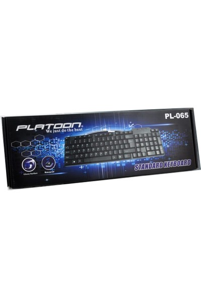Platoon PL-065 Standart Klavye