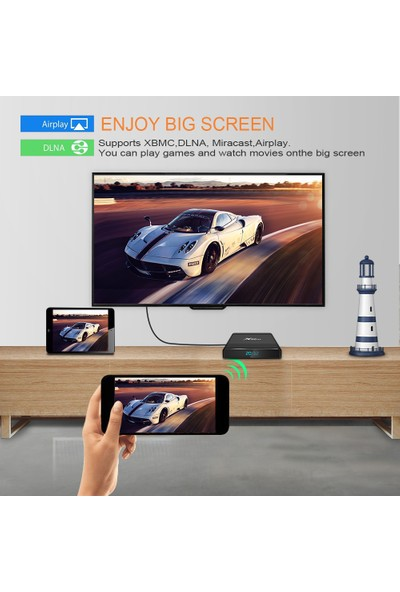X96 Air Amlogic S905X3 Android Tv Box