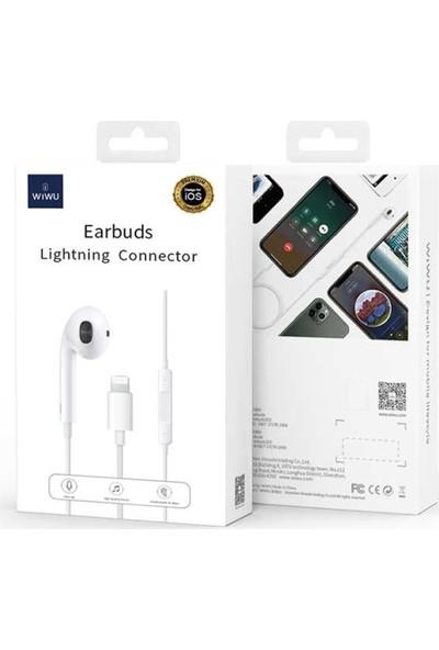 Wiwu Earbuds 303 Lightning MFİ Lisanslı Kulaklık Beyaz
