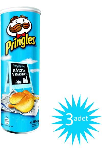 Pringles Salt & Vinegar - Sirkeli 165 gr 3'lü Paket