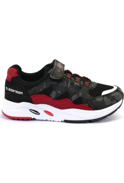Slazenger ENERGY Spor Çocuk Ayakkabı Siyah Kamuflaj