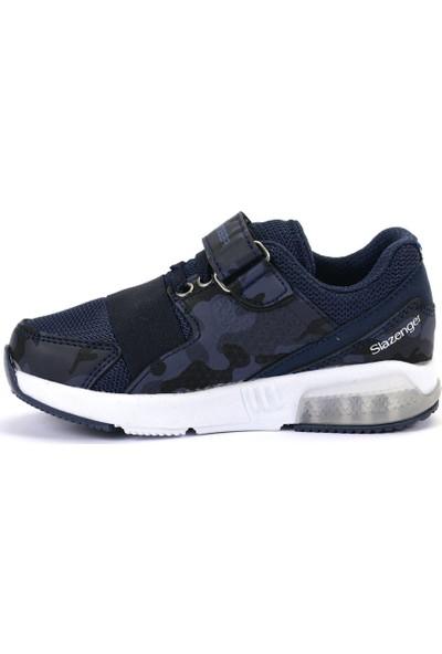 Slazenger ELA Spor Çocuk Ayakkabı Lacivert Kamuflaj