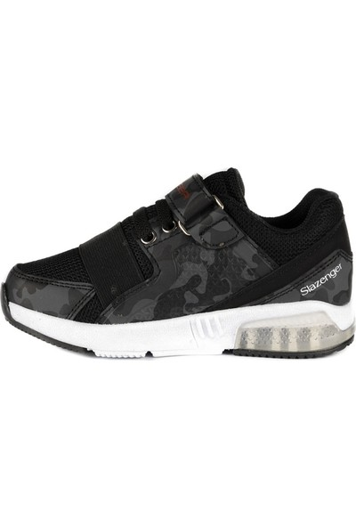 Slazenger ELA Spor Çocuk Ayakkabı Siyah Kamuflaj