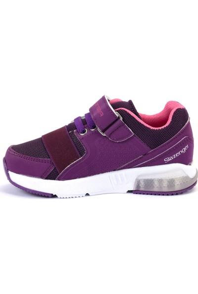 Slazenger ELA Spor Çocuk Ayakkabı Mor