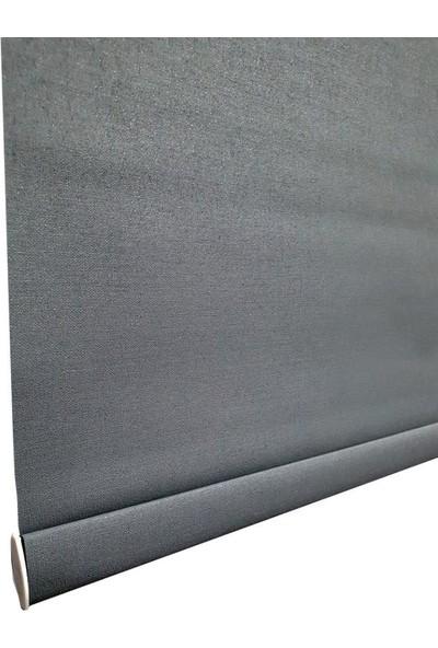 BBB Kalın Kumaşlı Mat Stor Perde Antrasit MS1411