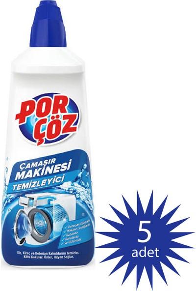 Porçöz Çamaşır Makinesi Temizleyici 400 ml 5'li Paket