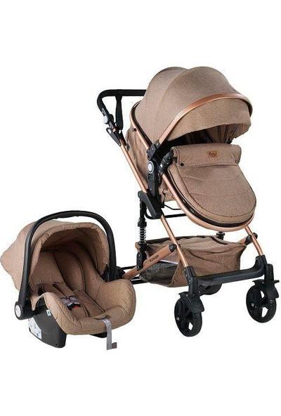 BabyHope Travel Sistem Puset Bebek Arabası 3007 Runner