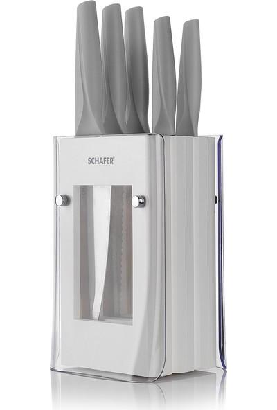 Schafer Solide 6 Parça Bıçak Seti GRI01