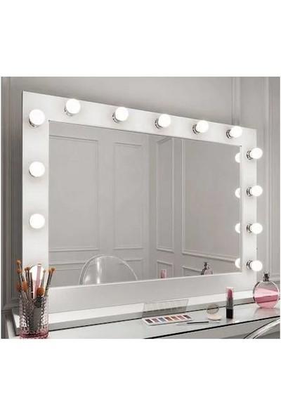Platto Creative Works Hollywood Işıklı Kulis Makyaj Aynası Plattocw