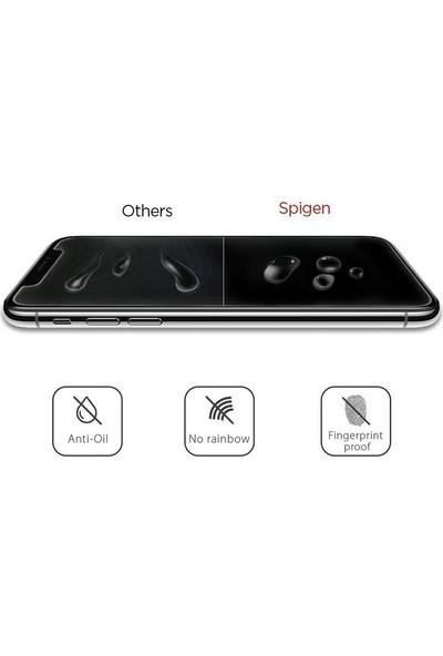 Spigen Apple iPhone 11 Pro / iPhone XS / iPhone X Cam Ekran Koruyucu GLAS.tR SLIM (2 Adet) - 063GL25104
