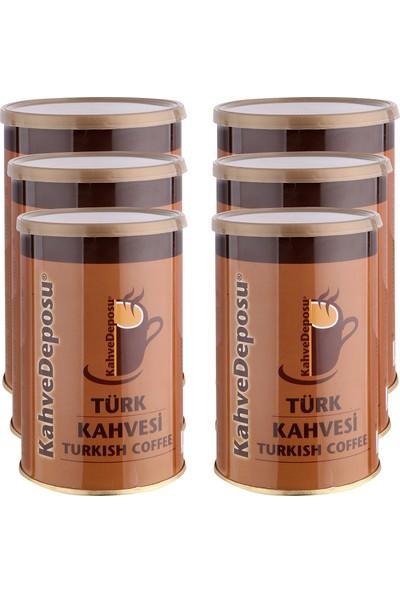 Kahve Deposu Kükel Türk Kahvesi 250 gr 6 'lı