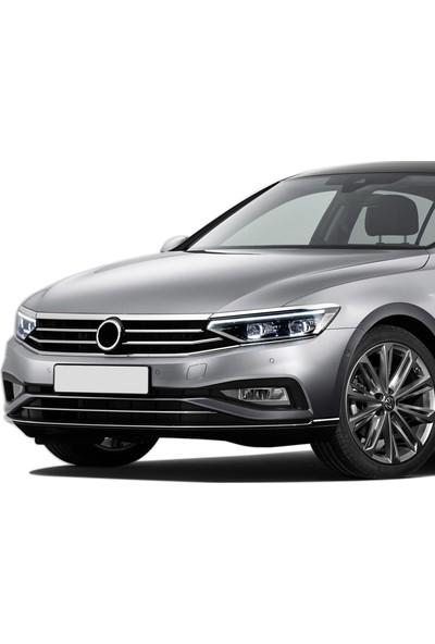 S-Dizayn Volkswagen Passat B8,5 Krom Far Üzeri Çıta Seti 3 Parça 2019 ve Üzeri S-Dizayn