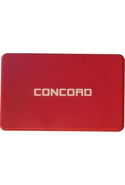 """Concord C-855 3.0 USB Harici HDD Harddisk Kutusu 2.5"""" - Kırmızı"""