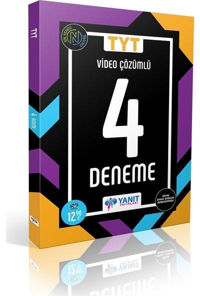 Yanıt Yayınları TYT Video Çözümlü 4 Deneme